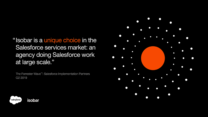 Forrester Recognizes Isobar among Top Salesforce Implementation Partners