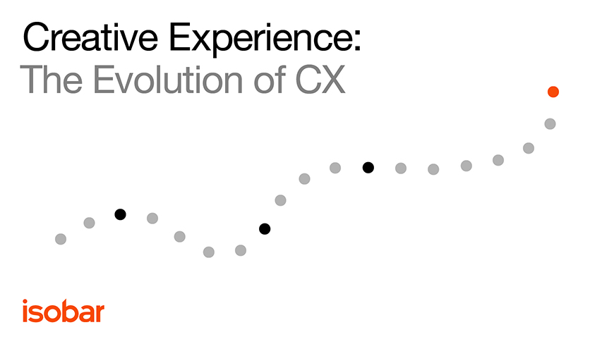 Research Reveals CX Evolution as a Creative Experience