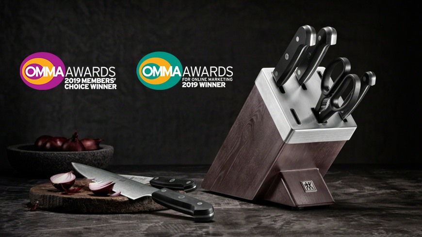 Isobar Takes Home Two OMMA Awards for Zwilling Work