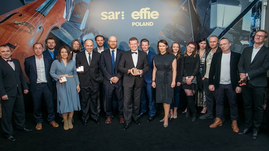 Isobar Poland with 3 Effie Awards 2019