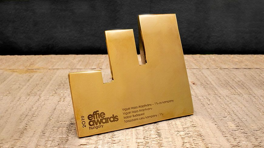 "Isobar wins Golden Effie award with its ""Take Me Home"" (Vigyél Haza) Foundation 1% Campaign"