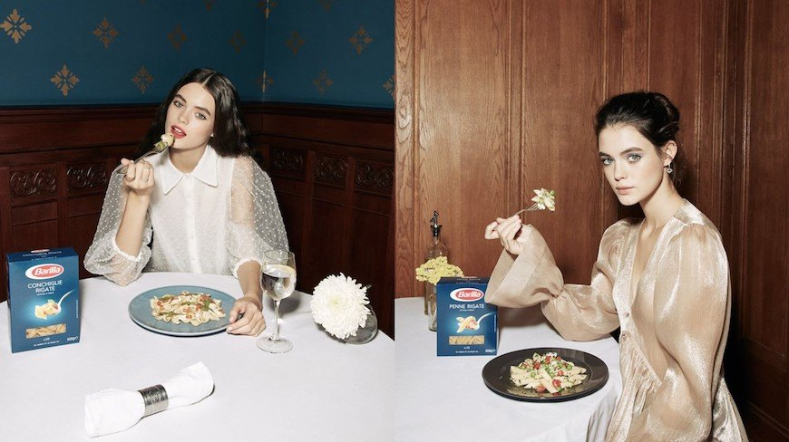 Isobar Moscow blends Art and fashion in quirky campaign for Barilla Pasta brand