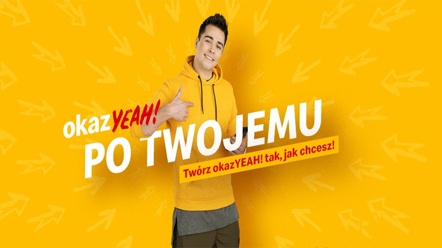 'okazYEAH! po Twojemu' — McDonald's introduces personalised promo offers